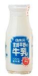 宮崎平野の牛乳(ビン)